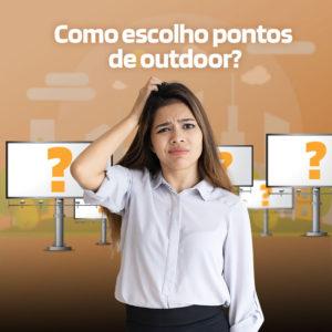 Como escolher pontos de Outdoor?