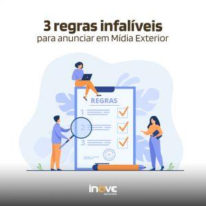 3 regras infalíveis para anunciar em Mídia Exterior